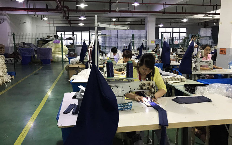 Goodordering factory tour in China