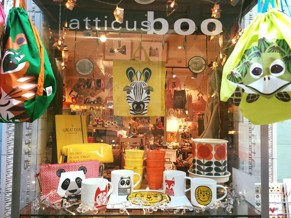 atticus boo gift shop in Buxton UK