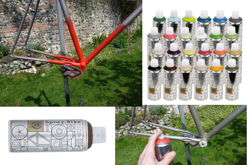 Bicycle spray paint