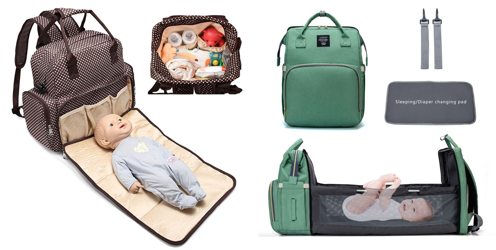 BABY CHANGE BAG CHANGE MAT 2 IN 1 MULTIFUNCTIONAL PRODUCT