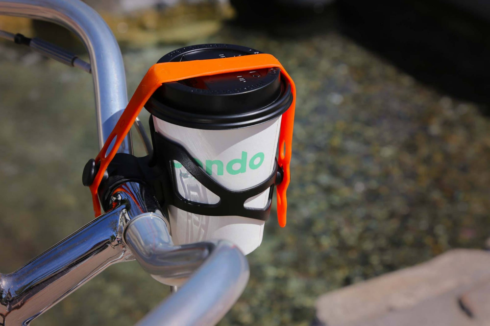 Coffee cup for bicycle