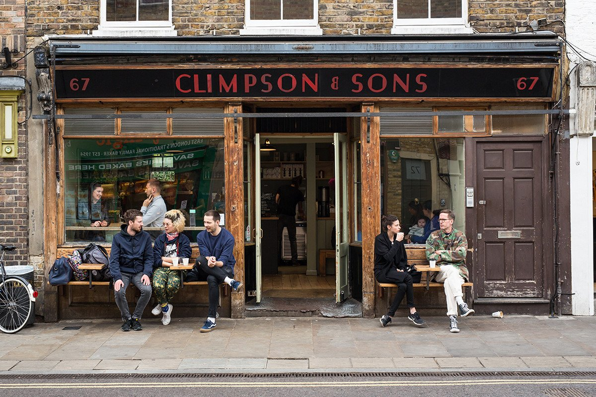 Climpson's cafe broadway market