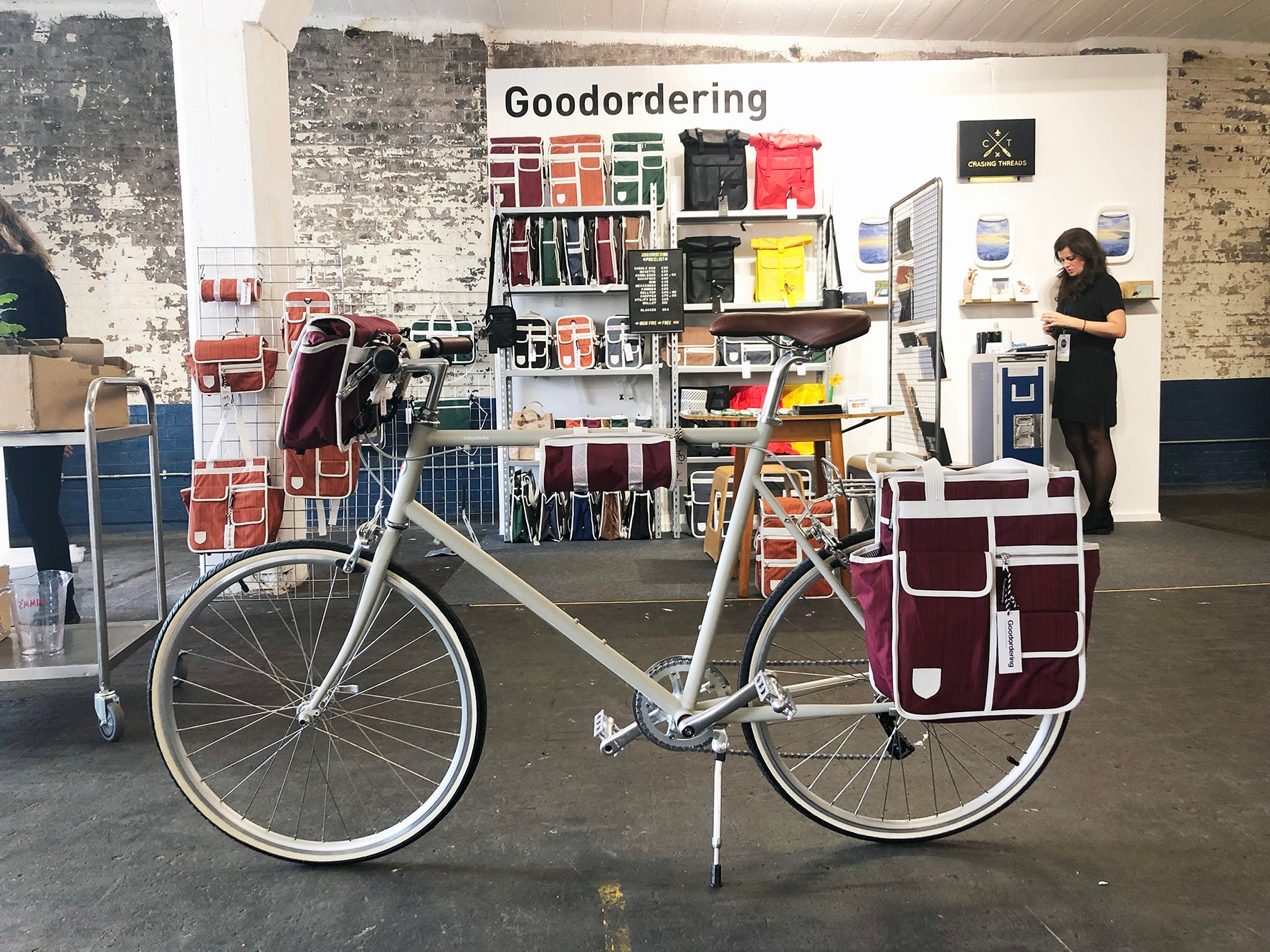 Goodordering at London Design Fair with design milk 2019