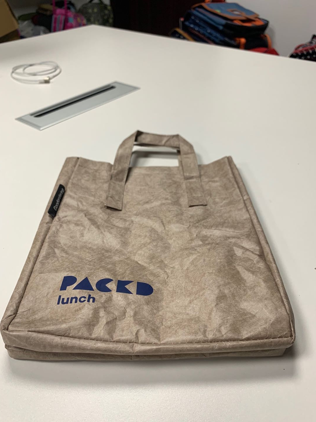 Packd Lunch re-usable lunch bag by Goodordering