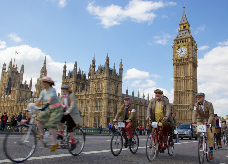 Big Ben and the tweed run