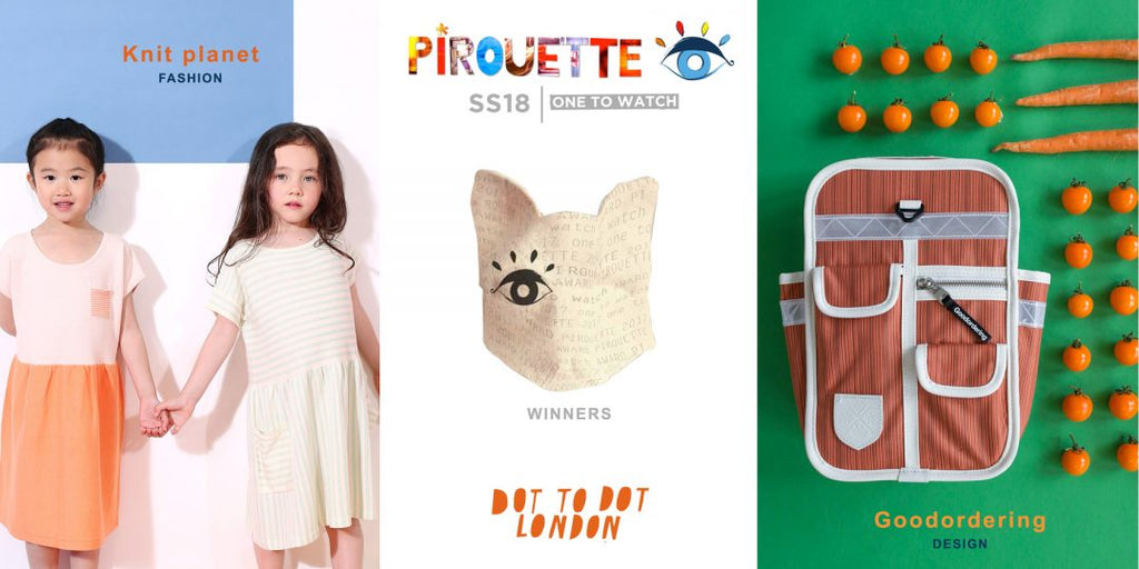 Pirouette Ones to watch winners Dot to Dot London SS18