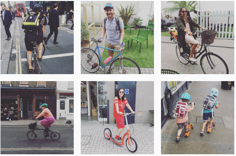 Best Instagram Hashtags For Urban Cycling Goodordering