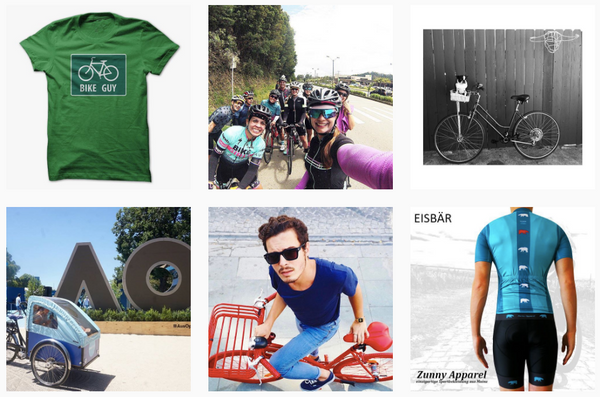 Best instagram hashtags for urban cycling