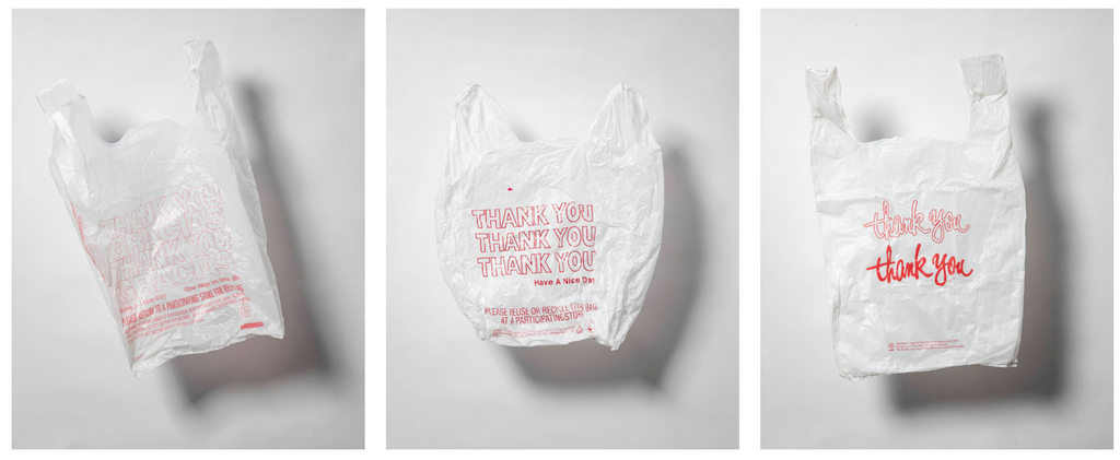 Iconic plastic bags of new york - thankyou plastic bag