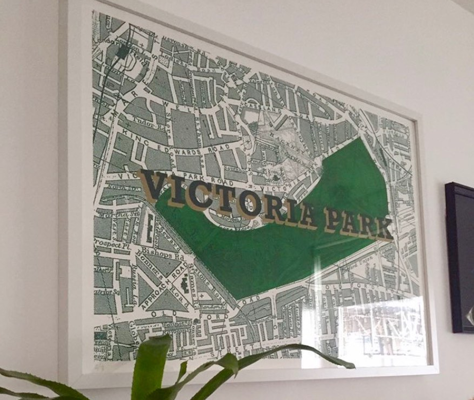 London map Goodordering gift guide