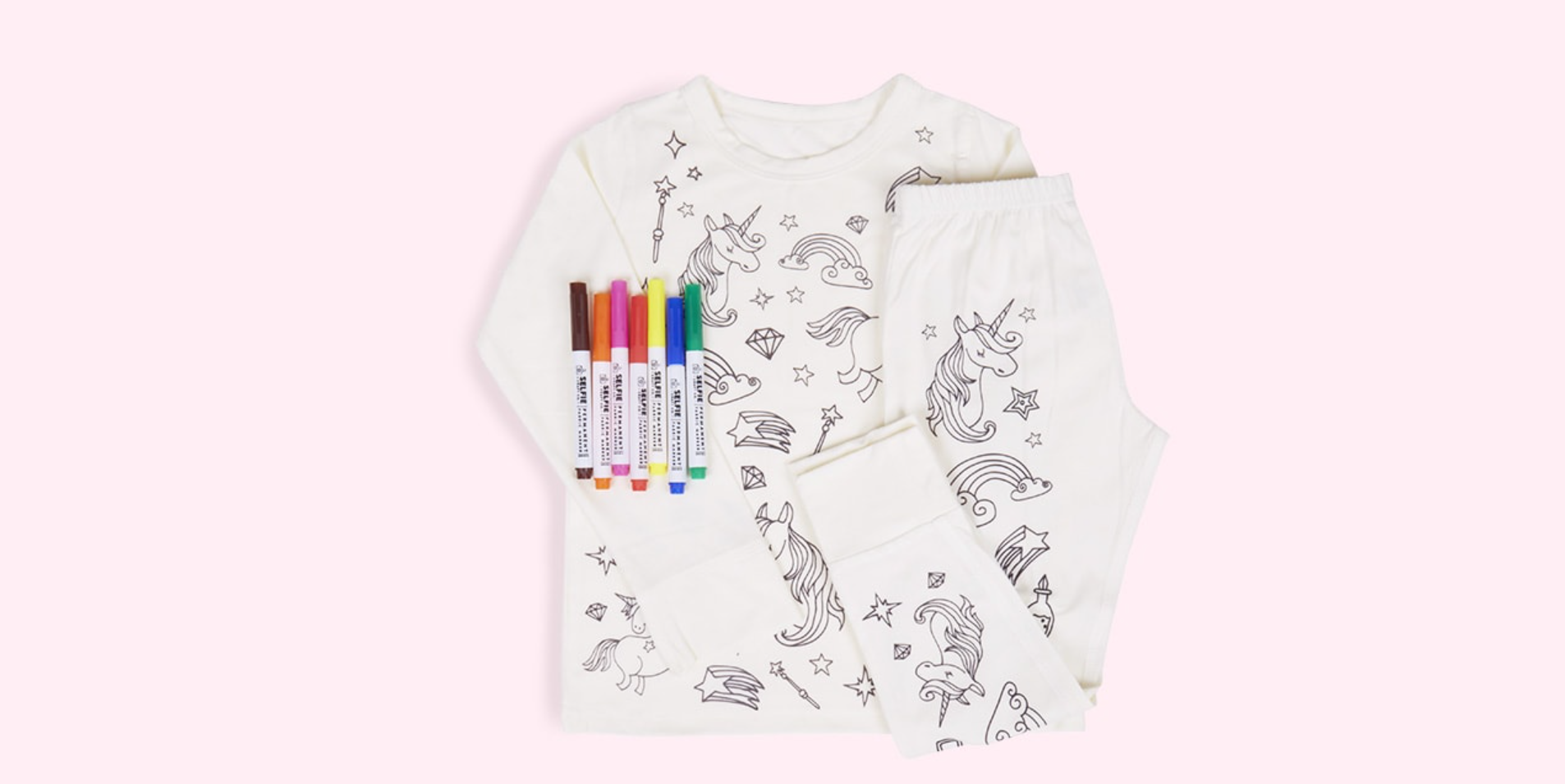 colour in pjs kidly