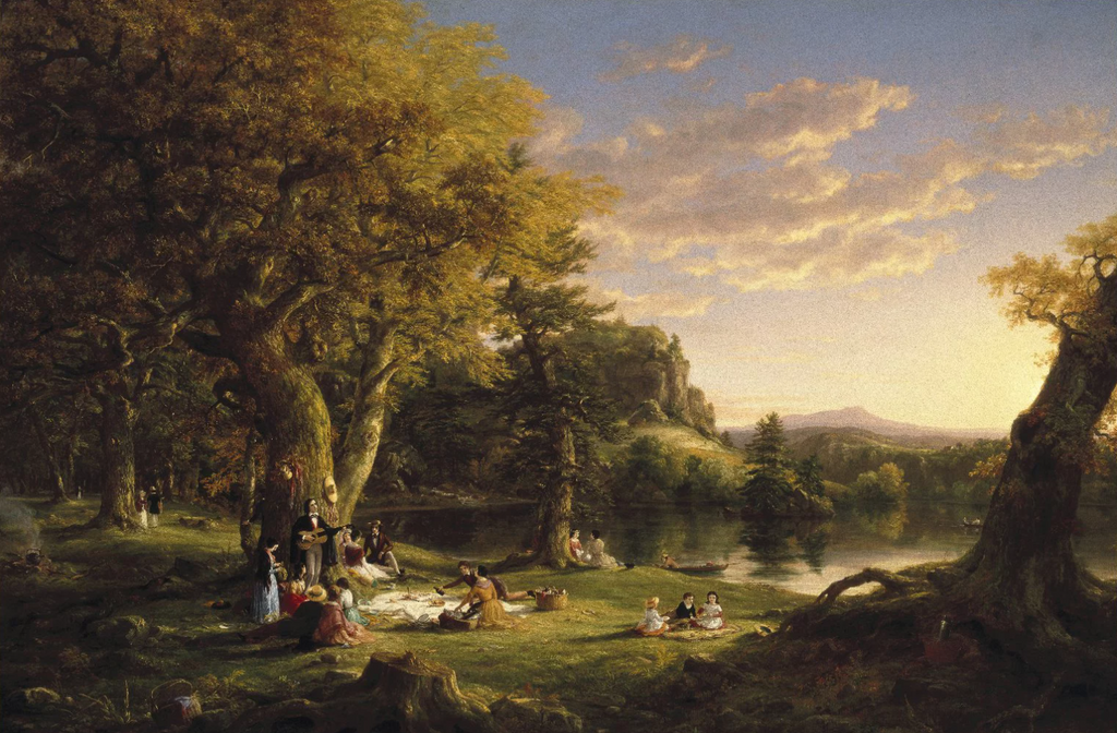 Thomas Cole's A Pic-Nic Party, 1846