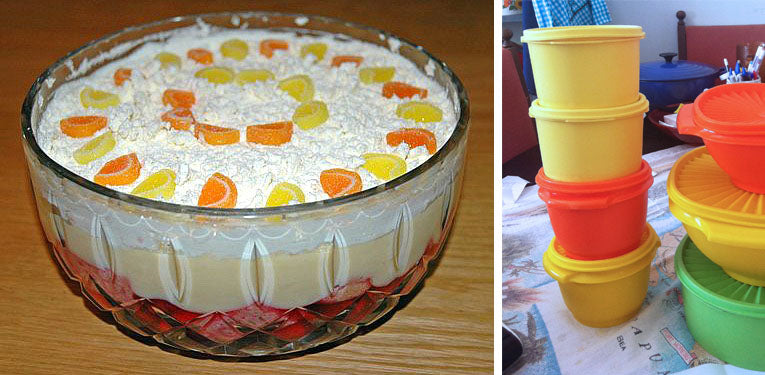 80s party food trifle