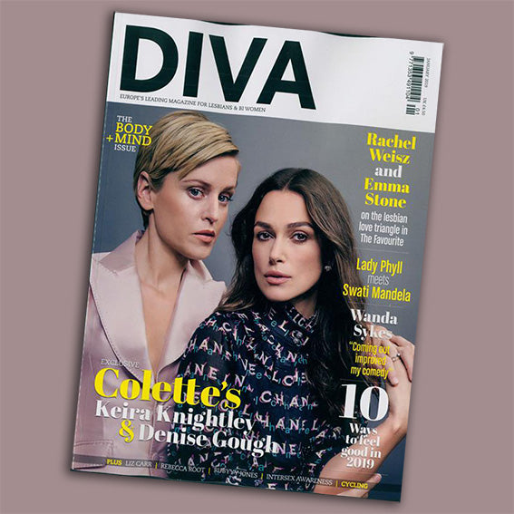 Diva Magazine and Goodordering January 2019