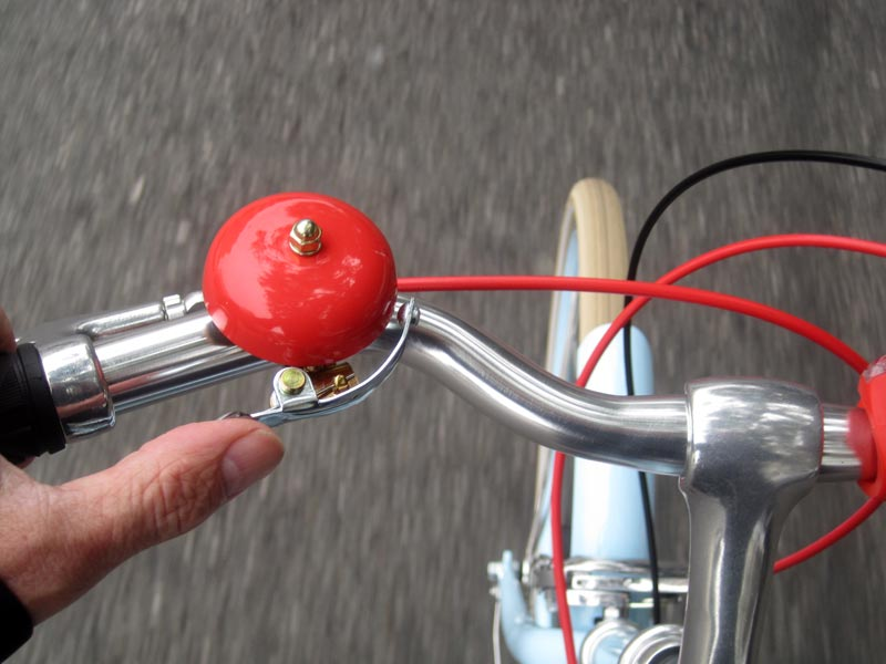 bicycle bell - tips fo safety when cycling
