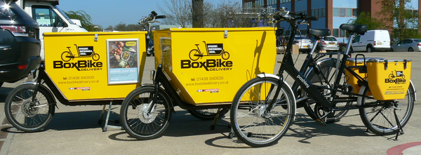 The box bicycle Stevenage cargo bikes