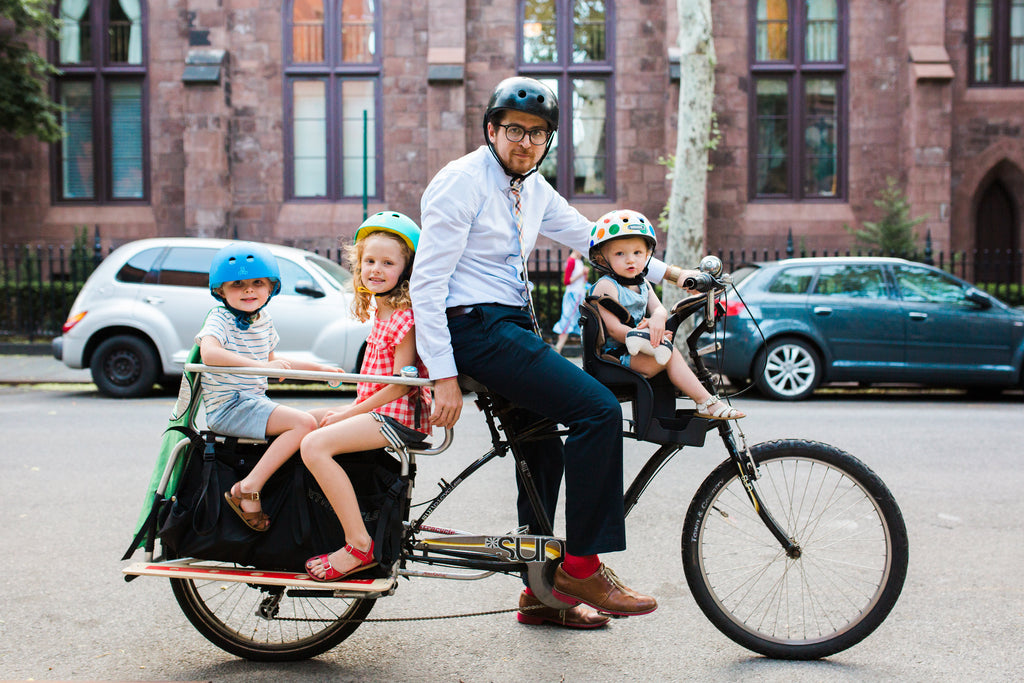Cargo bikes with kids