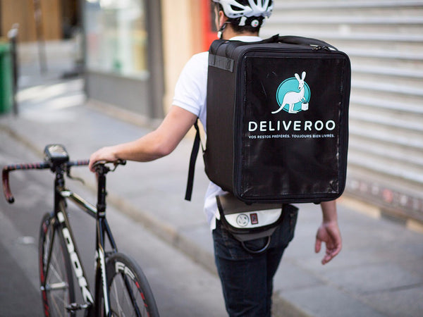 deliveroo cycling on-demand food around the UK