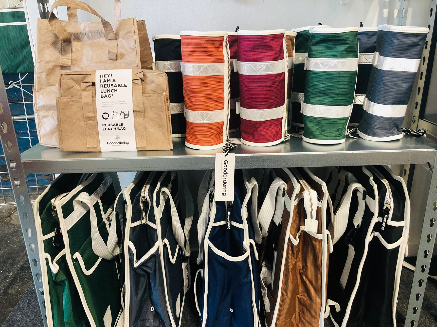 Goodordering bags at the London Design Fair 2019