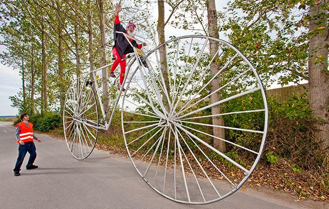 Worlds largest bicycle