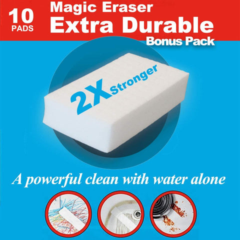 Magic eraser pads for stain removal