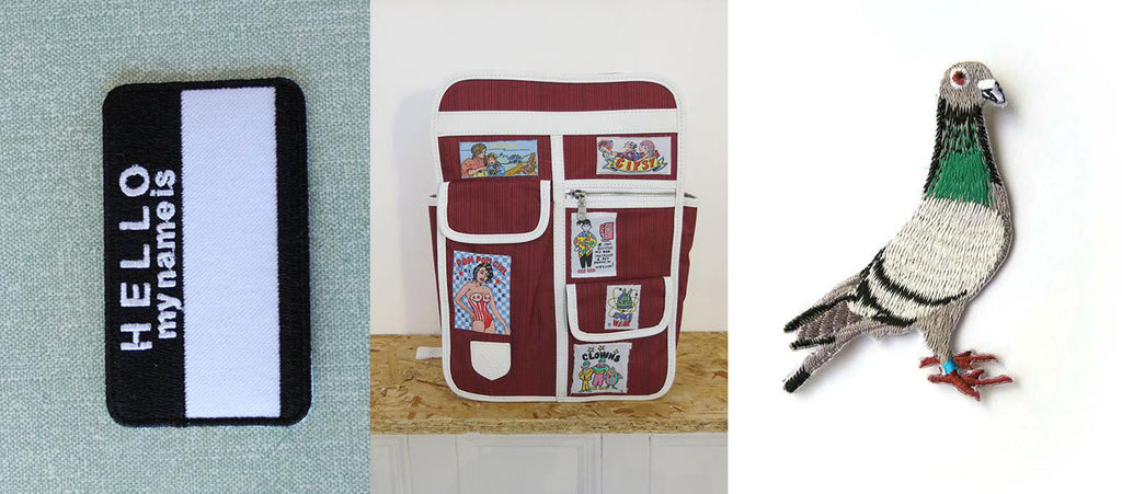 How to sew a patch onto your bag – Goodordering