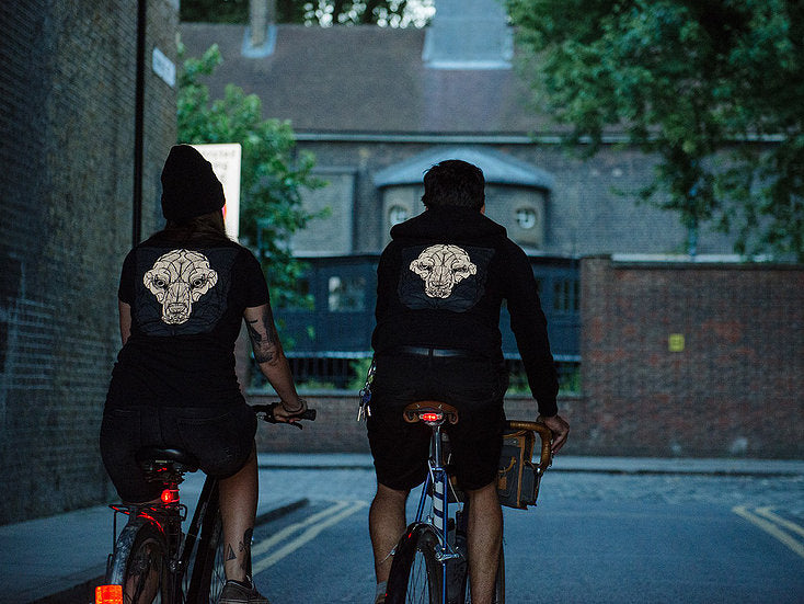 Ride with Wolves high vis clothing - safety tips for cyclists