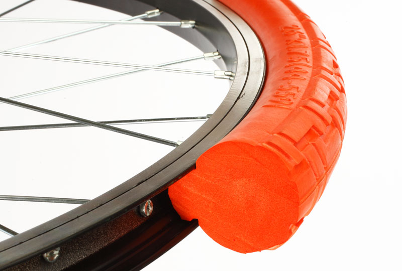 puncture proof bicycle tyre wheel