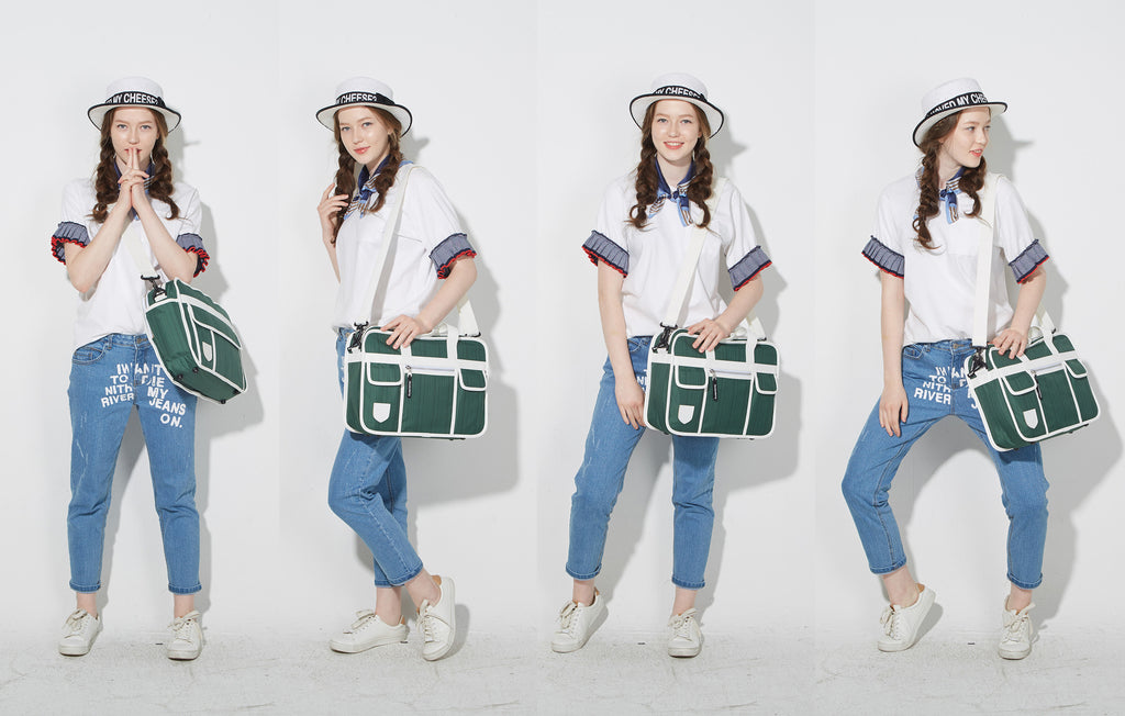 Japanese school bag inspiration for the Goodordering shoulder bag