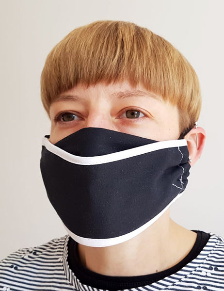 Reuseable face mask Adult - origami