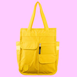 Monochrome Market Shopper Yellow