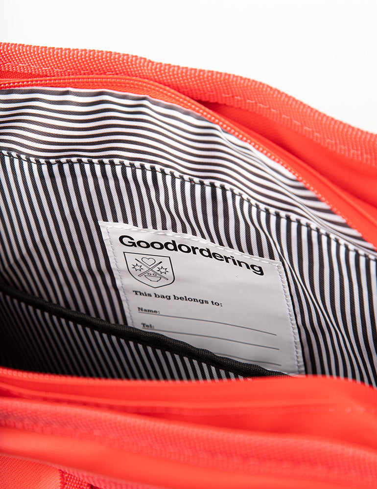 Monochrome Market Shopper Red - Goodordering