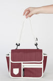 Buggy bag maroon
