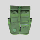 Eco Monochrome Rolltop Backpack Mini Green