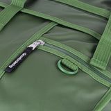 Eco Monochrome Rolltop Backpack Pannier Green