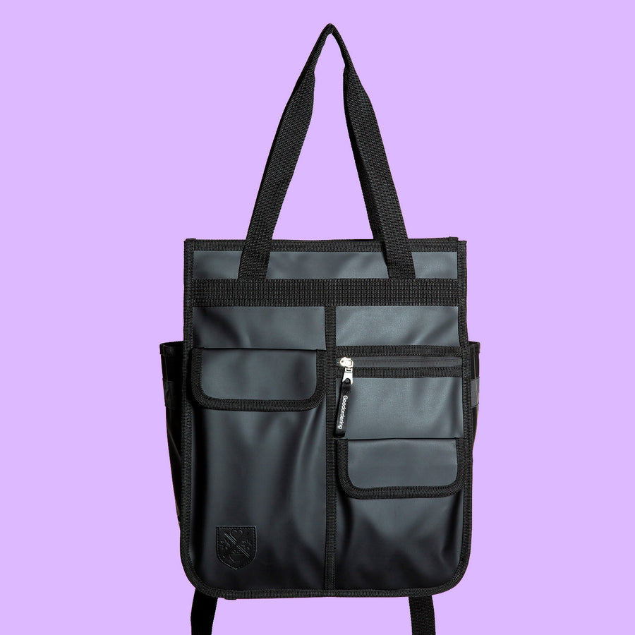 Monochrome Market Shopper Black