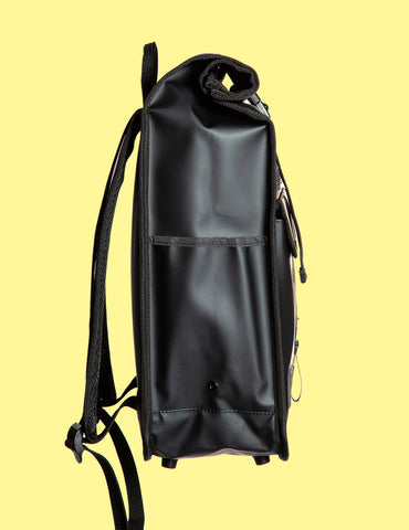 Monochrome Rolltop Backpack Mini Black