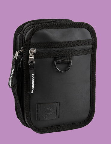 Monochrome Gadget Bag Black