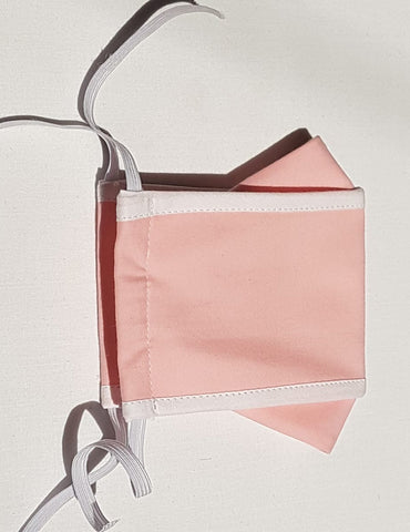 Reuseable face mask Adult - pink origami