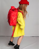 Monochrome Rolltop Backpack Mini Red - Goodordering