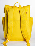 Monochrome Rolltop Backpack Pannier Yellow - Goodordering