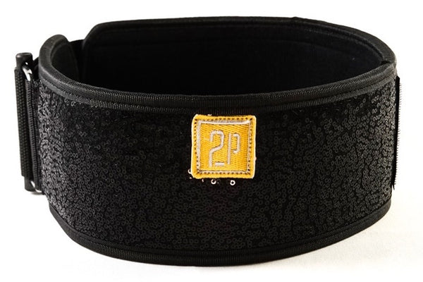 2POOD - BLACK MAGIC SPARKLE STRAIGHT BELT