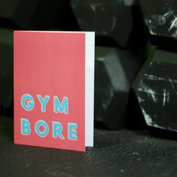 Functional Fitness Inspired Greetings Card