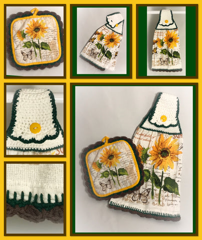 Sunflowers - Kitchen Towel Collection