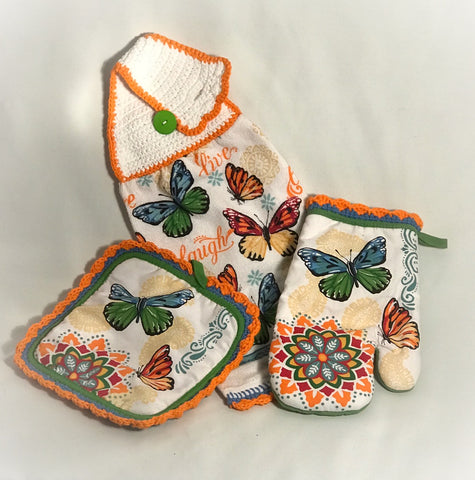 Spring Butterflies  - Kitchen Towel Collection