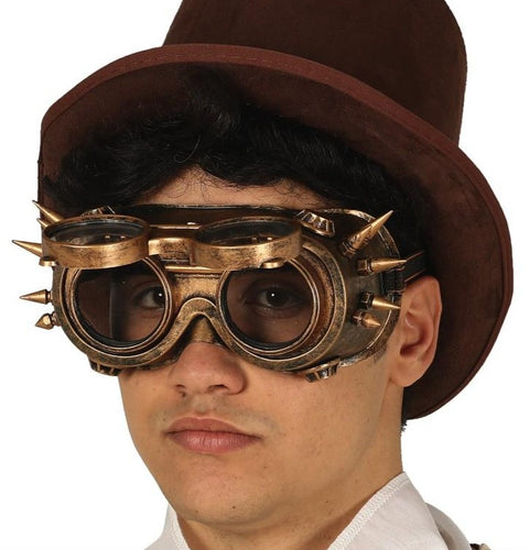 Steampunk Brille Gelenkvisier