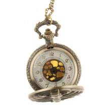 Load image into Gallery viewer, Skeleton pocket watch