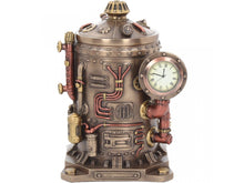 Load image into Gallery viewer, Steampunk Time Displacement Capsule box