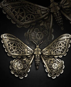 Pasador para pelo Mechanical Steampunk Moth