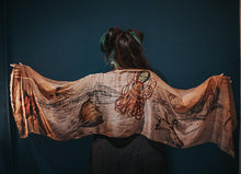 Load image into Gallery viewer, Nautilus Vegan Silk Scarf